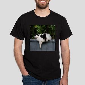 Big Fat Cat On Fence T-Shirt