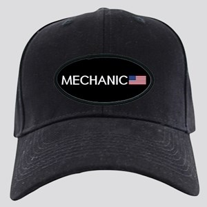 Mechanic: American Flag Black Cap