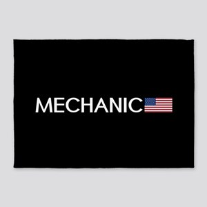 Mechanic: American Flag 5'x7'Area Rug