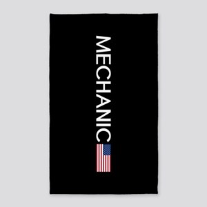 Mechanic: American Flag Area Rug