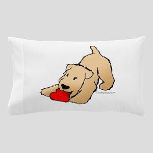 Wheaten Terrier Valentine Pillow Case