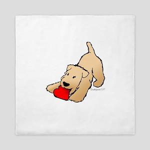 Wheaten Terrier Valentine Queen Duvet