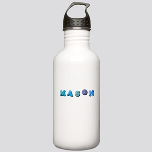 Mason (Colored Letters Stainless Water Bottle 1.0L