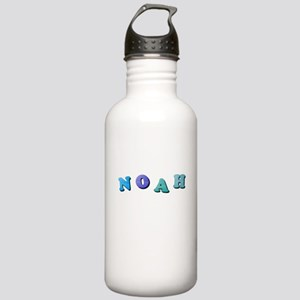 Noah (Colored Letters) Stainless Water Bottle 1.0L