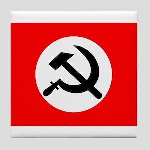 National Bolshevik Party Flag Tile Coaster