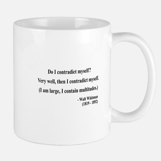 Walter Whitman 7 Mug