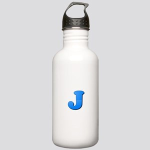 J (Colored Letter) Stainless Water Bottle 1.0L