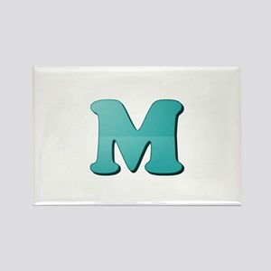 M (Colored Letter) Magnets