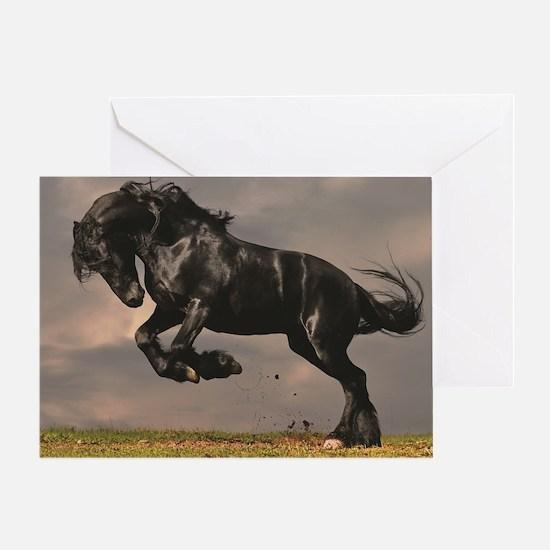 Cute Horse foal Greeting Card