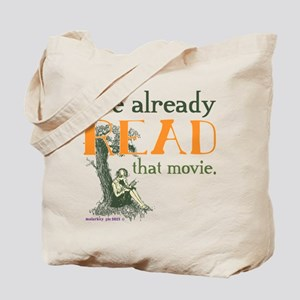 I've Read that Movie Tote Bag