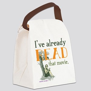 I've Read that Movie Canvas Lunch Bag