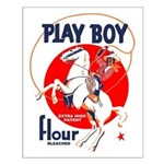 Play Boy Flour Small Poster