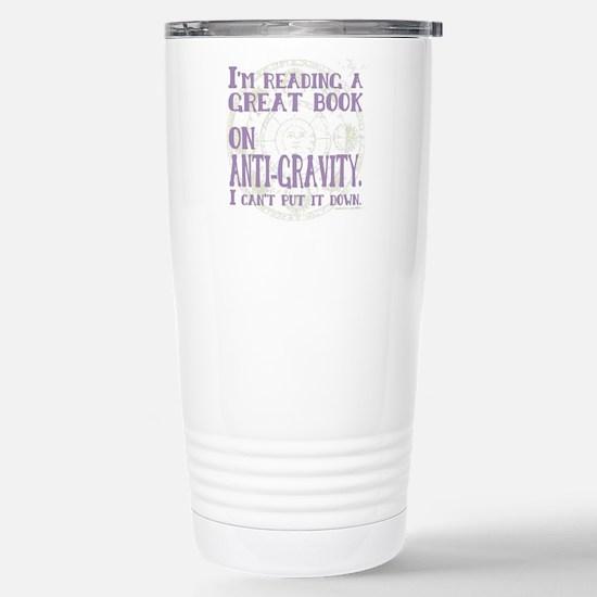 Anti-Gravity Books Funn Stainless Steel Travel Mug