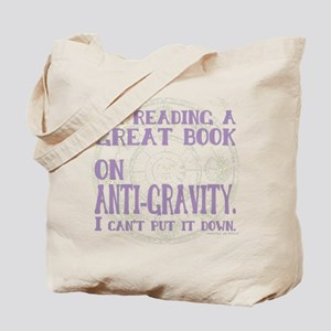 Anti-Gravity Books Funny Tote Bag