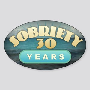 Sober 30 Years - Alcoholics Sticker