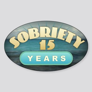 Sober 15 Years - Alcoholics Sticker