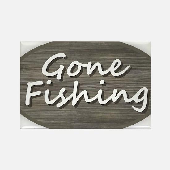 Gone Fishing Magnets