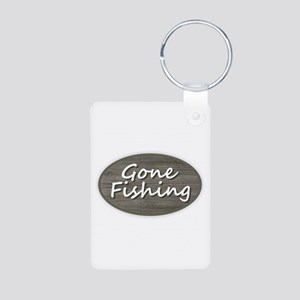 Gone Fishing Keychains