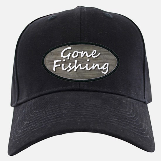 Gone Fishing Baseball Hat