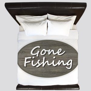 Gone Fishing King Duvet
