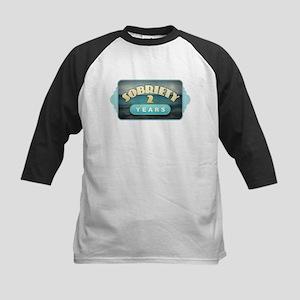 Sober 2 Years - Alcoholics Baseball Jersey