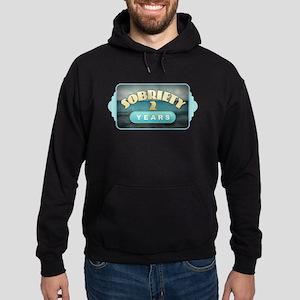Sober 2 Years - Alcoholics Sweatshirt