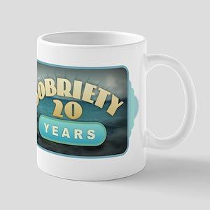 Sober 20 Years - Alcoholics Mugs