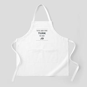 TURK to my JD Apron