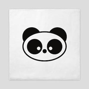 Cute Panda Queen Duvet