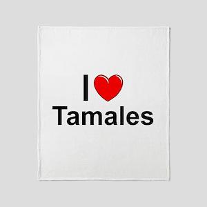 Tamales Throw Blanket