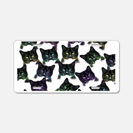 Cool Cats! Aluminum License Plate