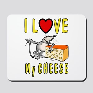 I Love Cheese Mousepad