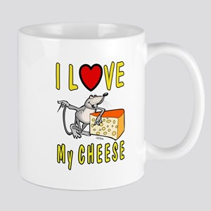 I Love Cheese Mugs