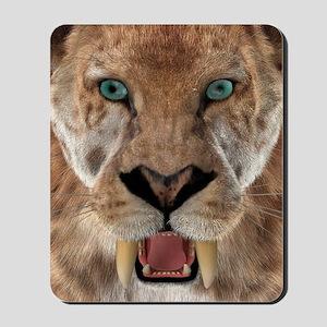 Saber Toothed Ttiger or Smilodon Mousepad