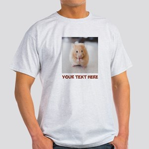 Hamster Personalized Light T-Shirt