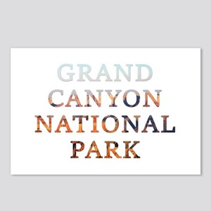 Grand Canyon Nat Park Postcards (package Of 8)
