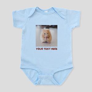 Hamster Personalized Baby Light Bodysuit
