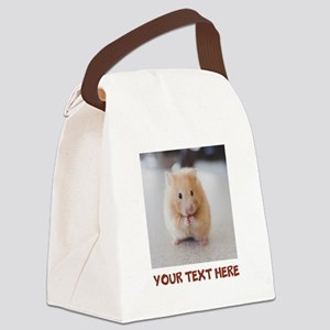 Hamster Personalized Canvas Lunch Bag