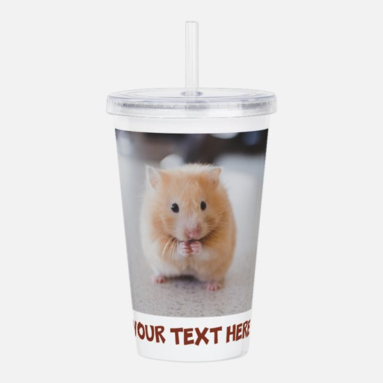 Hamster Personalized Acrylic Double-wall Tumbler
