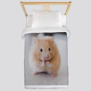 Hamster Personalized Twin Duvet Cover