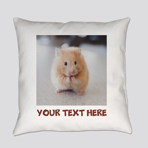 Hamster Personalized Everyday Pillow