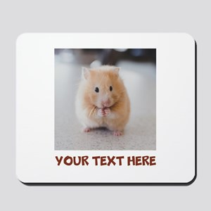Hamster Personalized Mousepad