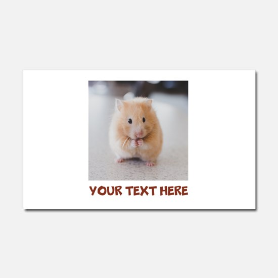 Hamster Personalized Car Magnet 20 x 12