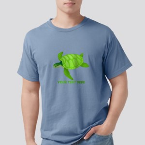 Turtle Personalized Mens Comfort Colors Shirt
