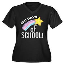 100 Days Of School celebration Plus Size T-Shirt