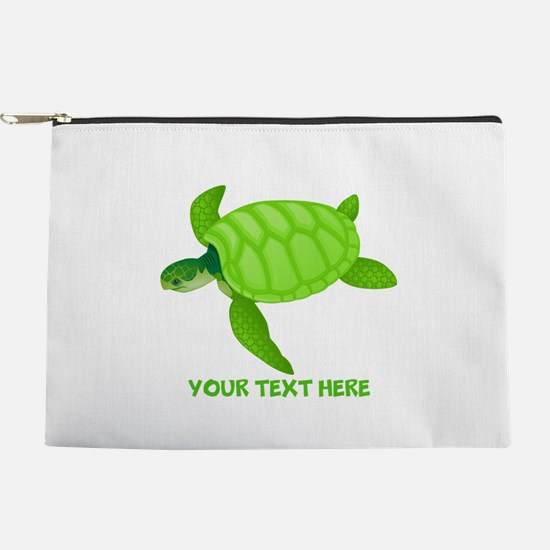 Turtle Personalized Makeup Bag