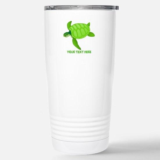 Turtle Personaliz Travel Mug
