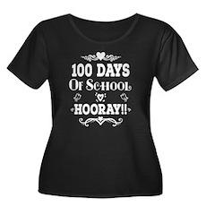 100 Days Of School Plus Size T-Shirt