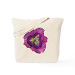 Lavender Eye Daylily Tote Bag