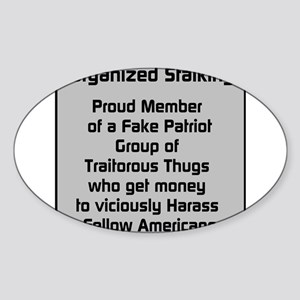 Fake Patriot Group Sticker